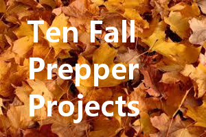 Fall Prepper Projects